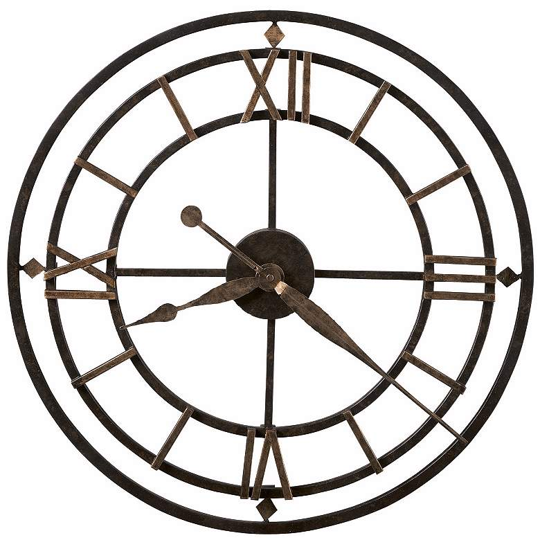"Howard Miller York Station 21 1/4"" Wide Wall Clock"