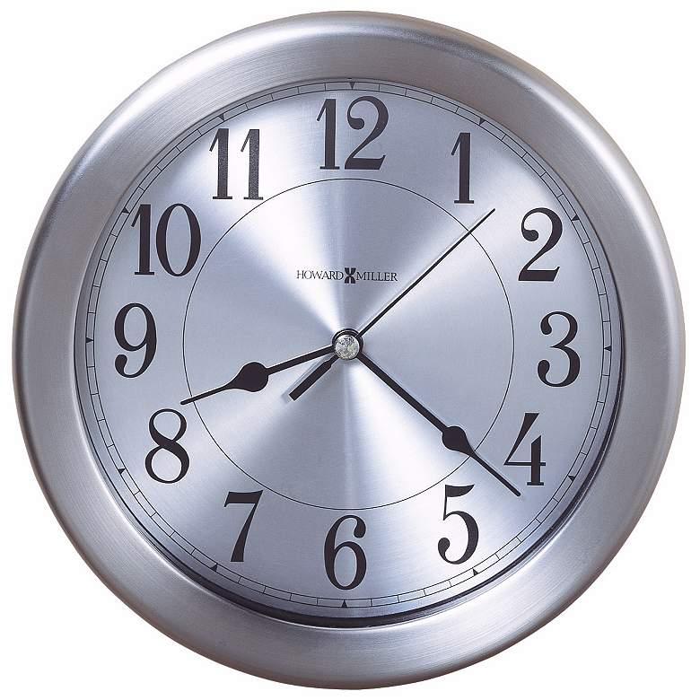 "Howard Miller Pisces 8 1/2"" Wide Water-Resistant Wall Clock"