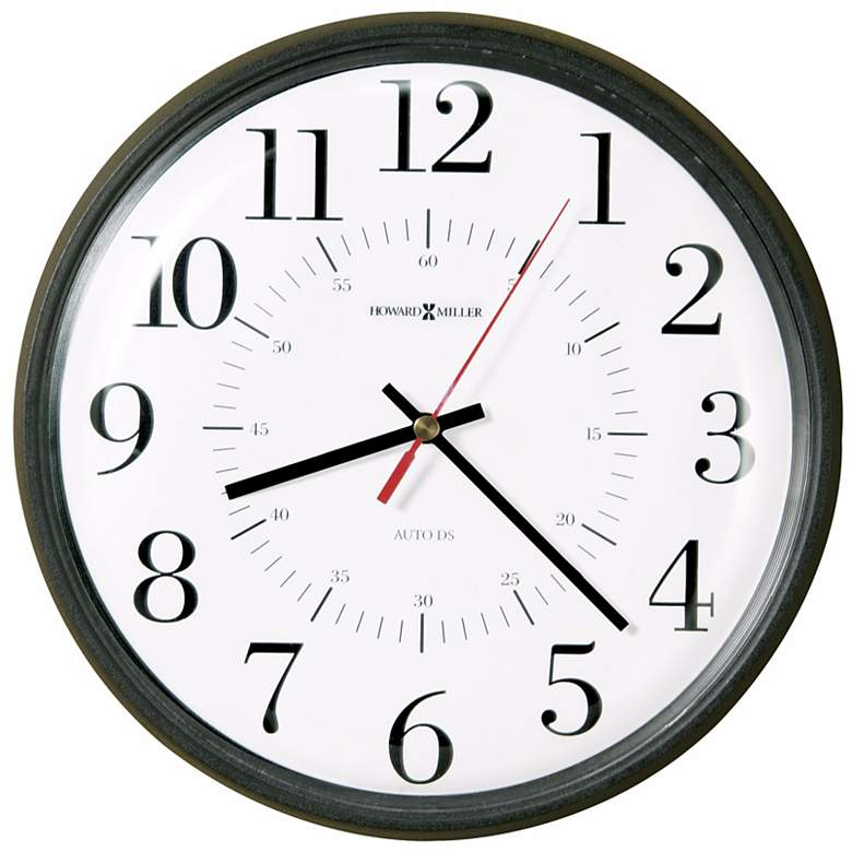 "Alton 14"" Wide Wall Clock"
