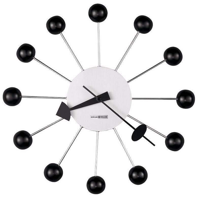 """George Nelson 14"""" Wide Modern Wall Clock by"""