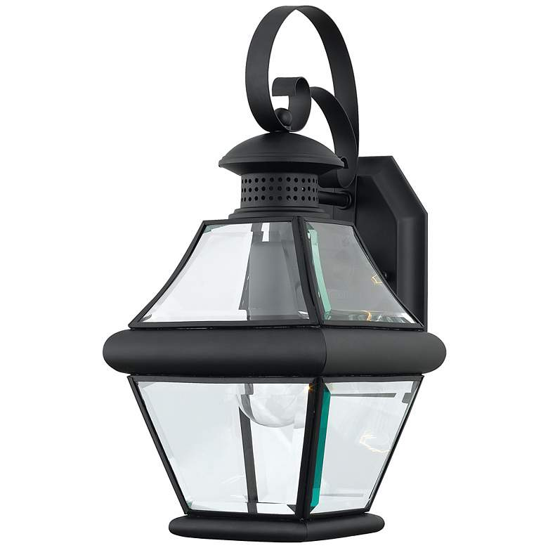 """Rutledge Collection Black 15"""" High Outdoor Wall Light"""
