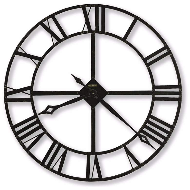 """Lacy 14"""" Wide Wall Clock"""