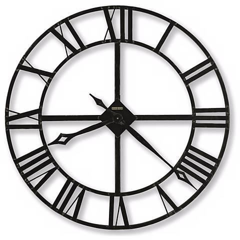 "Howard Miller Lacy II Quartz 14"" Wide Wall Clock"