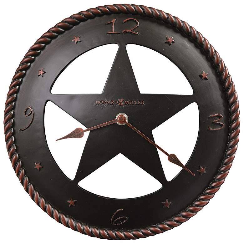 "Howard Miller Maverick 11"" Wide Wall Clock"