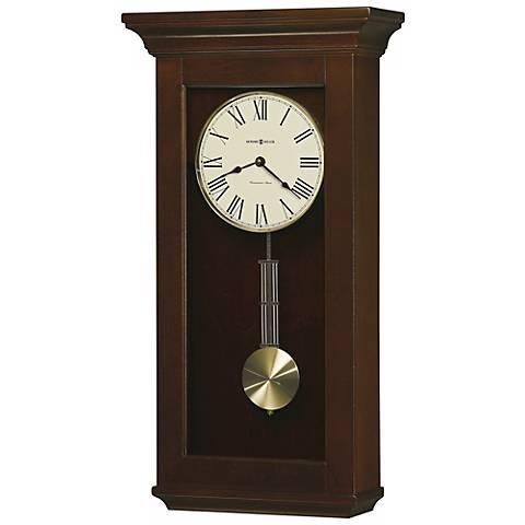 "Howard Miller Continental 24 1/2"" High Wall Clock"