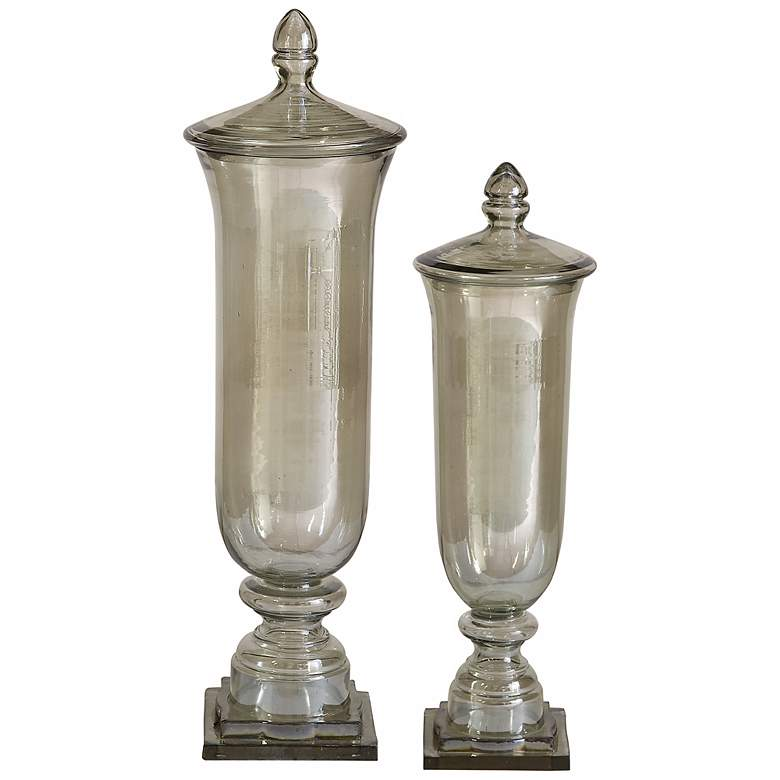 Gilli Decorative Glass Containers Set of 2 by Utermost