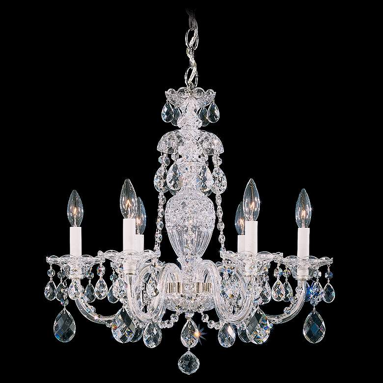 Schonbek Sterling 21 Wide Swarovski Crystal Chandelier