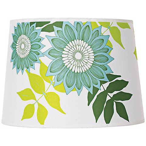 Lights Up! Camilla Meijer Green Anna Shade 12x14x10 (Spider)