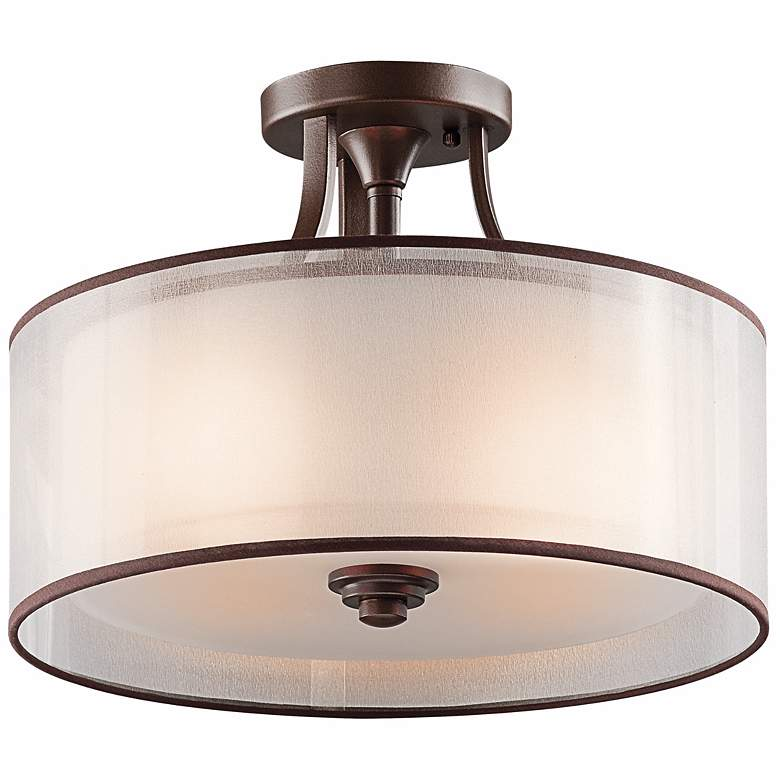 """Kichler Lacey Collection 15"""" Wide Ceiling Light Fixture"""