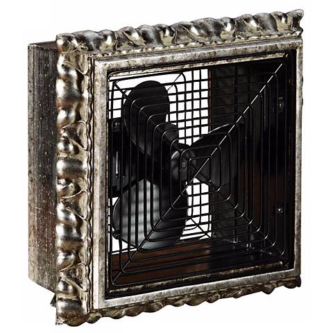 Verezon Wood Frame Desk Fan