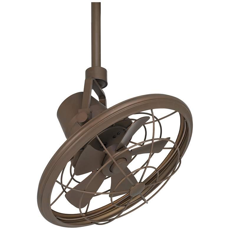 "18"" Casa Vieja Big Sky Oil-Rubbed Bronze Damp Ceiling Fan"