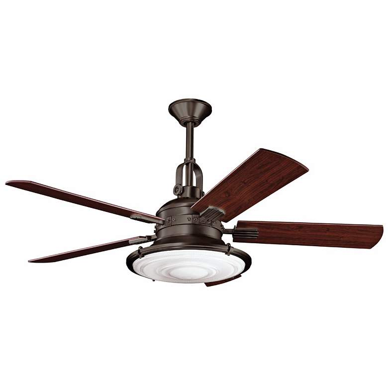 "52"" Kichler Kittery Point Olde Bronze Ceiling Fan"