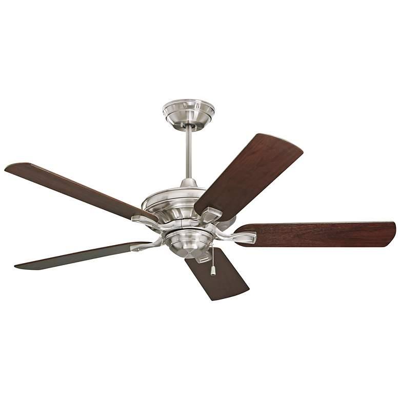 """52"""" Emerson Carrera Bella Brushed Steel Ceiling Fan"""