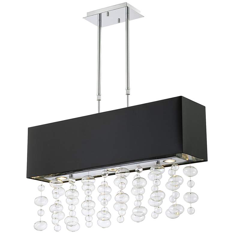 Possini Euro Design® Bubble Cascade Rectangular Pendant