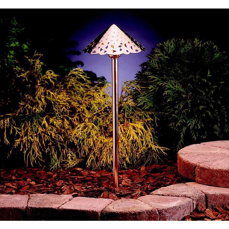 Kichler Hammered Copper Led Landscape Path Light