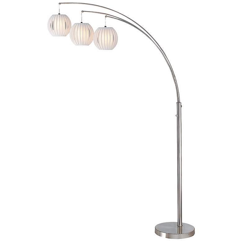 Lite Source Deion 3 Light Hanging Arc Floor Lamp N1912