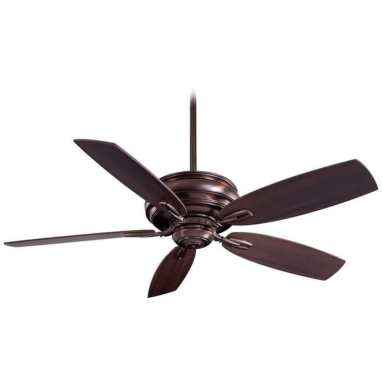 "54"" Minka Aire Timeless Dark Brushed Bronze Ceiling Fan"
