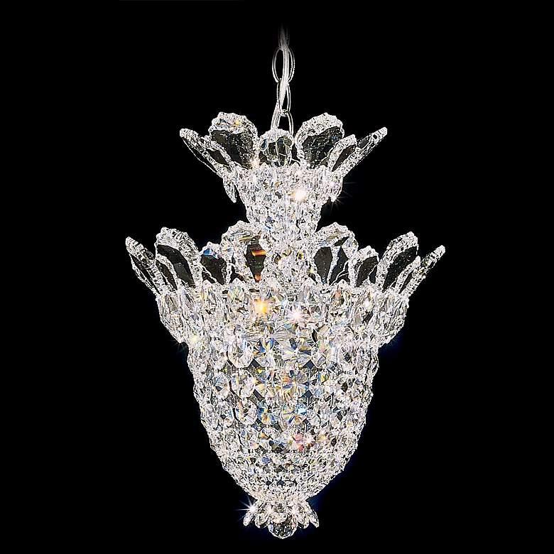 """Schonbek Trilliane 12 1/2""""W Swarovski Crystal Foyer Pendant"""