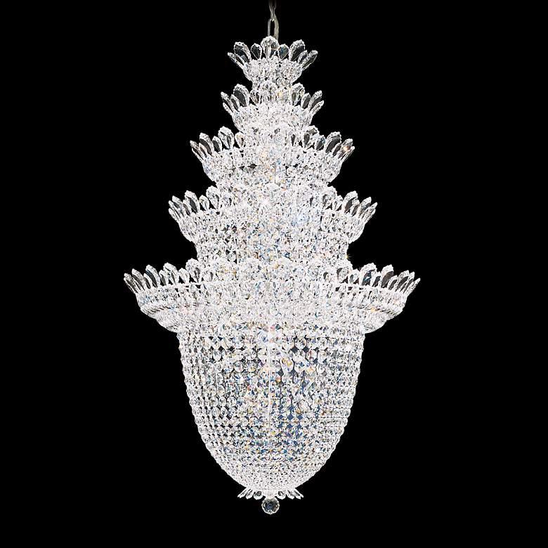 Schonbek Trilliane Collection 5-Tier Crystal Foyer Pendant