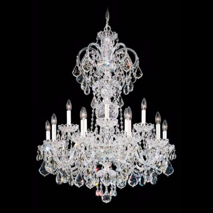 Schonbek Olde World Crystal Lighting Collection