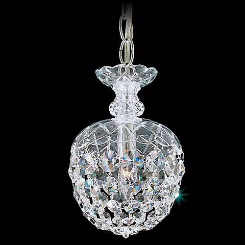 "Schonbek Olde World Collection 6"" Crystal Mini Pendant Light"