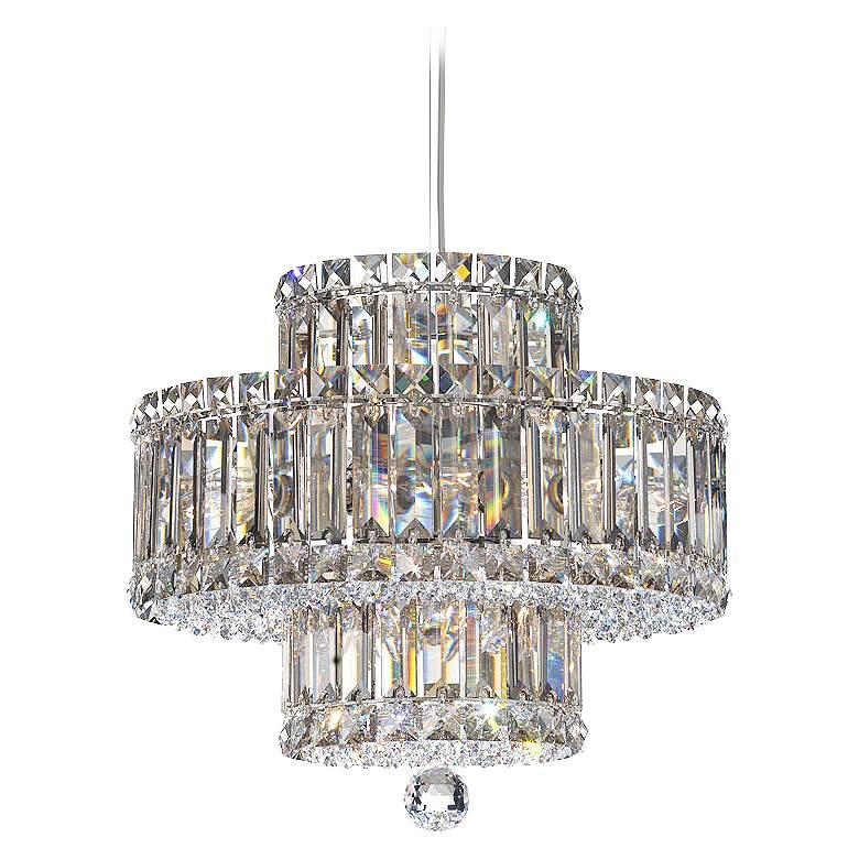 Schonbek Plaza Collection 9-Light Crystal Pendant Chandelier