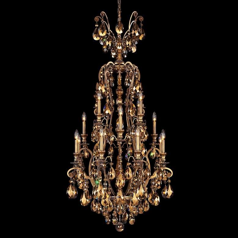 "Schonbek Renaissance Collection 28"" Wide Crystal Chandelier"
