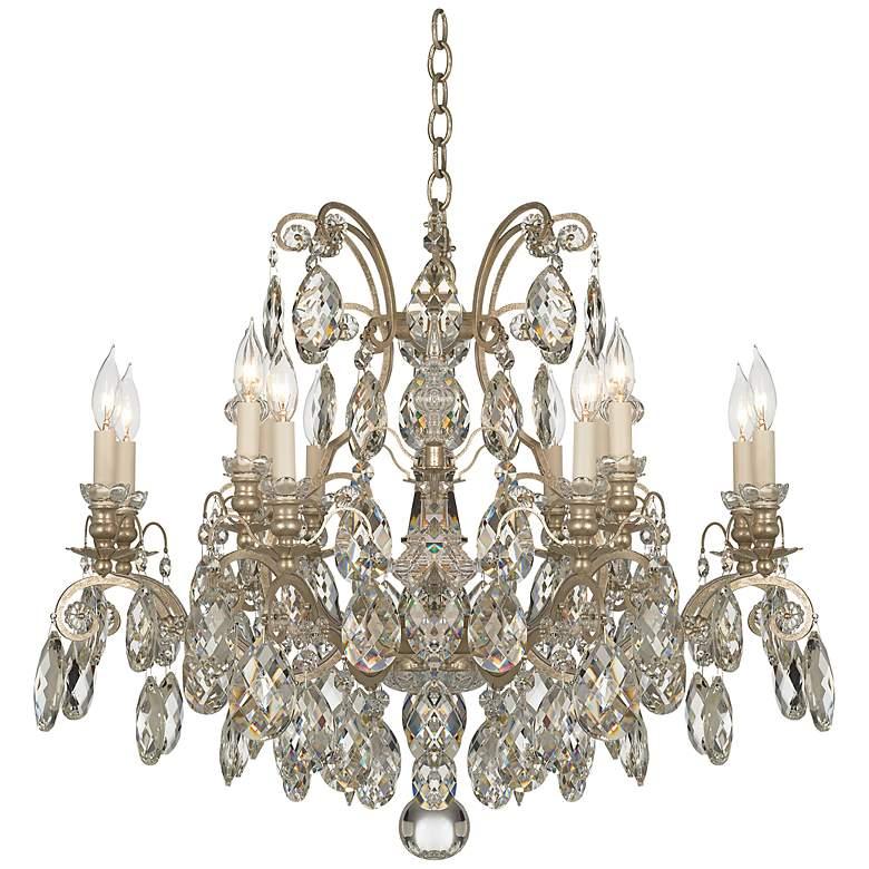 "Schonbek Renaissance Collection 33"" Wide Crystal Chandelier"