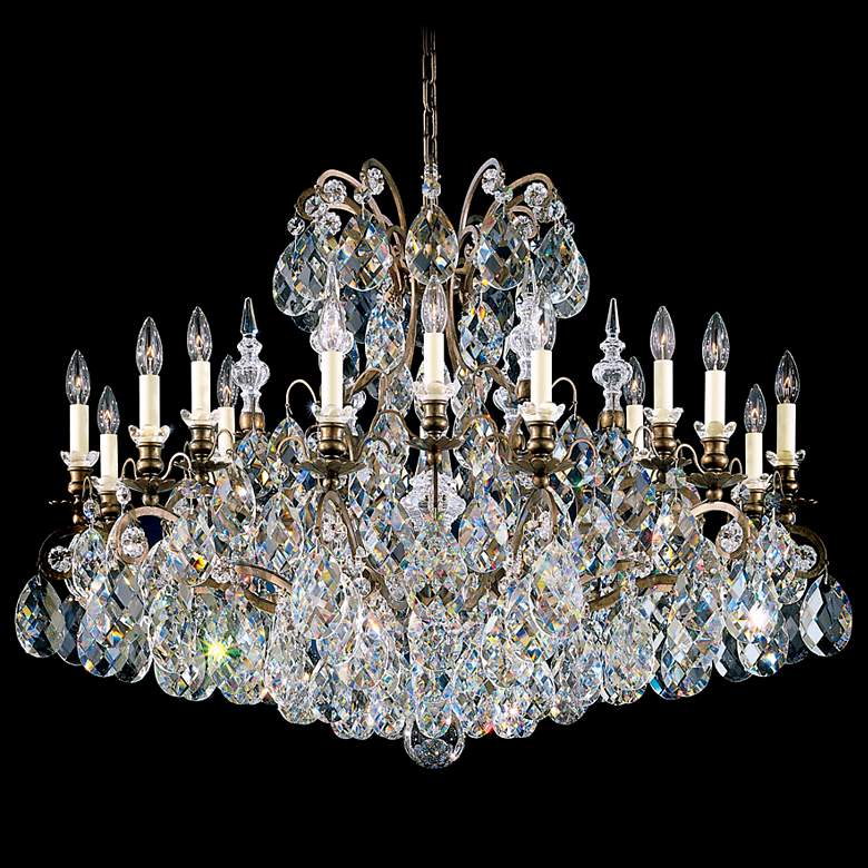 "Schonbek Renaissance Collection 40"" Wide Crystal Chandelier"