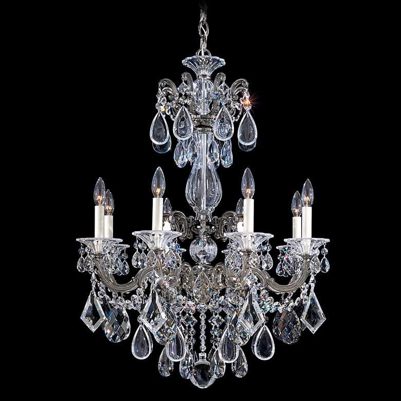 "Schonbek La Scala Collection 25"" Wide Crystal Chandelier"