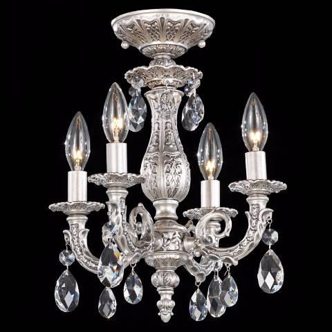 Schonbek Milano 11 1 2 Quot Wide Spectra Crystal Ceiling Light