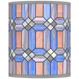 Asscher Tiffany-Style Giclee Shade 10x10x12 (Spider)
