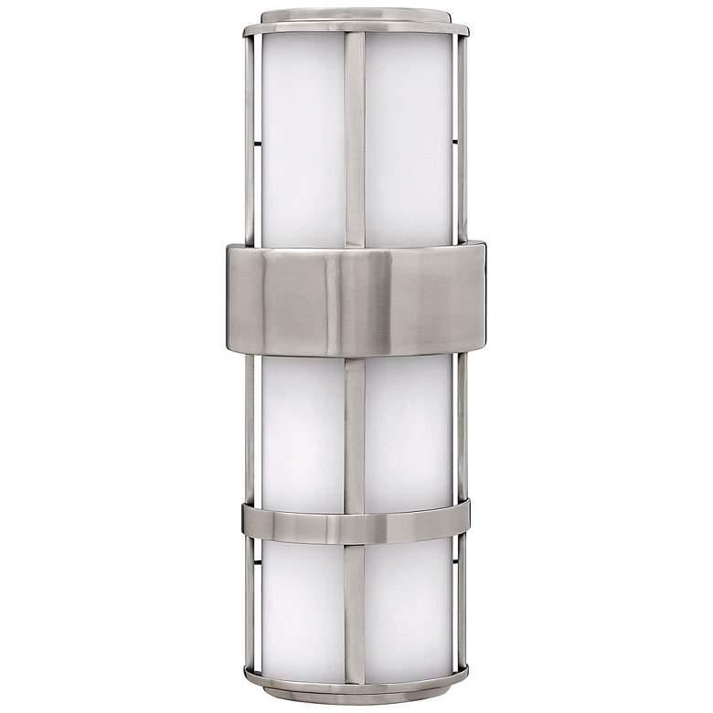 "Hinkley Saturn Steel 20 1/2"" High Outdoor Wall Light"