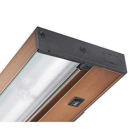 "9"" Juno Pro-LED Bronze Hardwired Undercabinet Light"