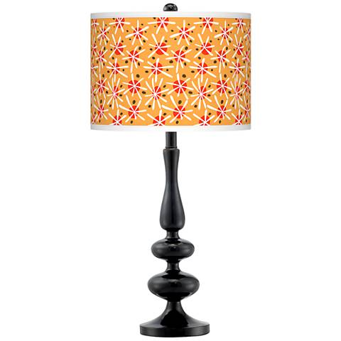 Seastar Giclee Paley Black Table Lamp