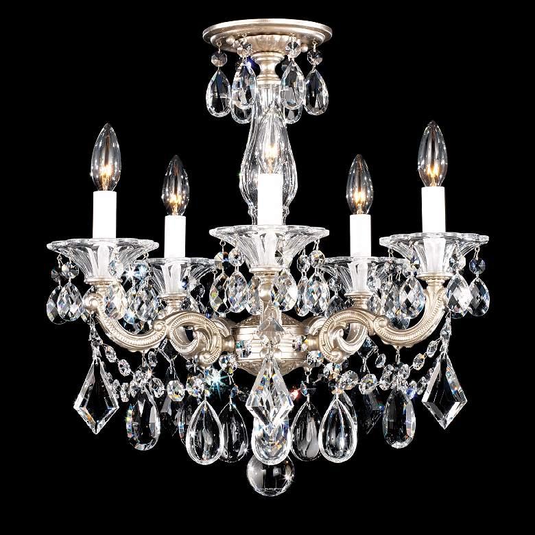 "Schonbek La Scala Collection 18 1/2"" Crystal Ceiling Light"