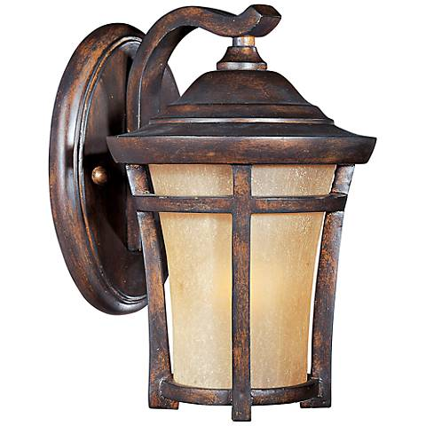 "Maxim Balboa VX 9 1/2"" High Copper Oxide Wall Light"