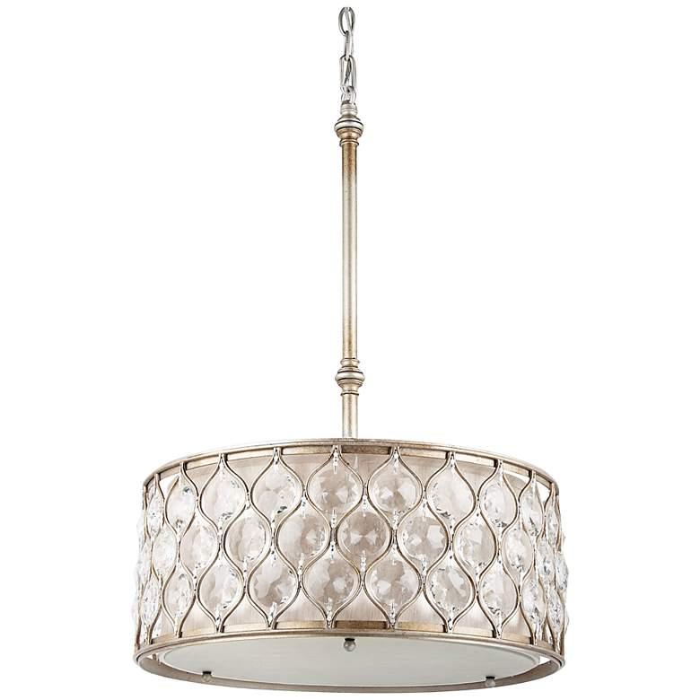 """Feiss Lucia Collection 18 1/2"""" Wide Pendant Light"""