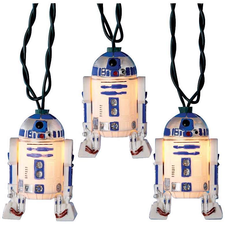 Star Wars R2D2 10-Light String of Party Lights