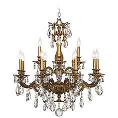 Bronze schonbek chandeliers lamps plus schonbek milano 32 12w bronze swarovski crystal chandelier mozeypictures Images
