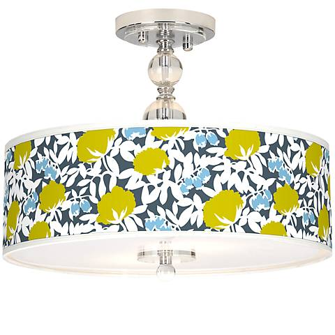 "Seedling by thomaspaul Hedge 16"" Wide Ceiling Light"