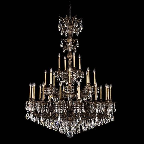 Schonbek milano 50 wide swarovski crystal chandelier n8076 schonbek milano 50 wide swarovski crystal chandelier mozeypictures Images