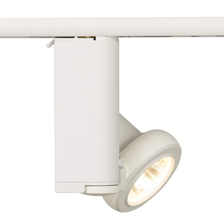 Lightolier Sof-Tech Matte White MR16 Track Spot Head