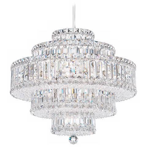 Schonbek plaza 21 wide silver swarovski crystal chandelier n8328 schonbek plaza 21 wide silver swarovski crystal chandelier mozeypictures Choice Image