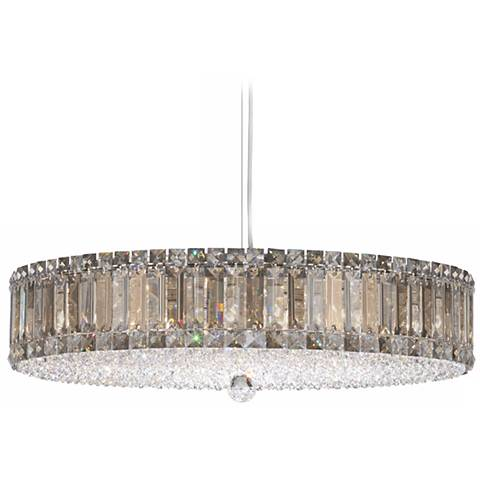 "Schonbek Plaza Collection 25"" Crystal Pendant Chandelier"