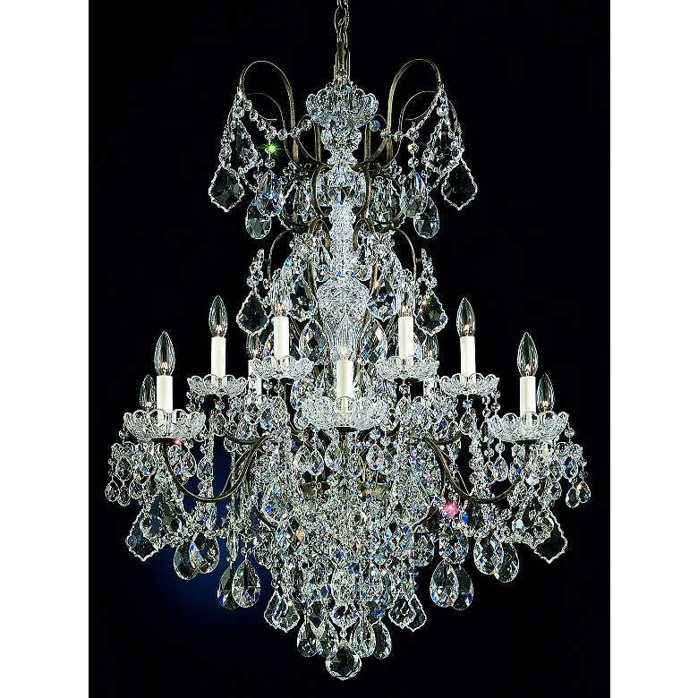 Schonbek New Orleans Collection 32 Wide Crystal Chandelier N8510