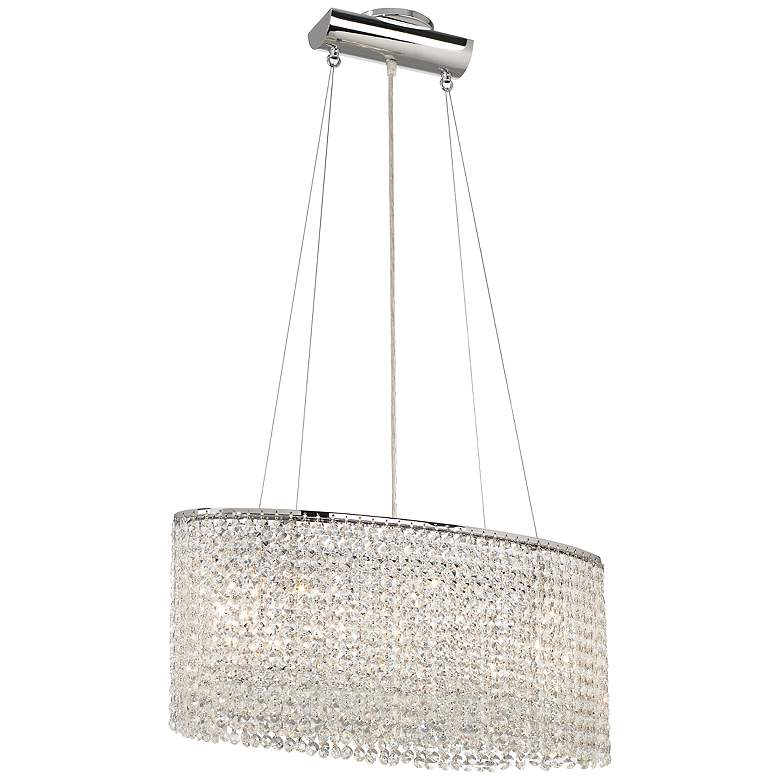 James R. Moder Clear Imperial Crystal 5-Light Chandelier