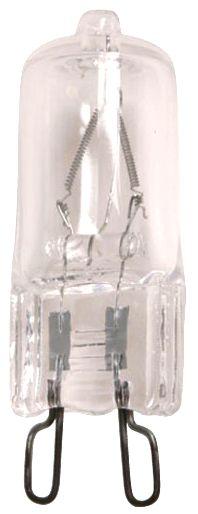 Superb Satco 60 Watt G9 120 Volt Clear Halogen Light Bulb