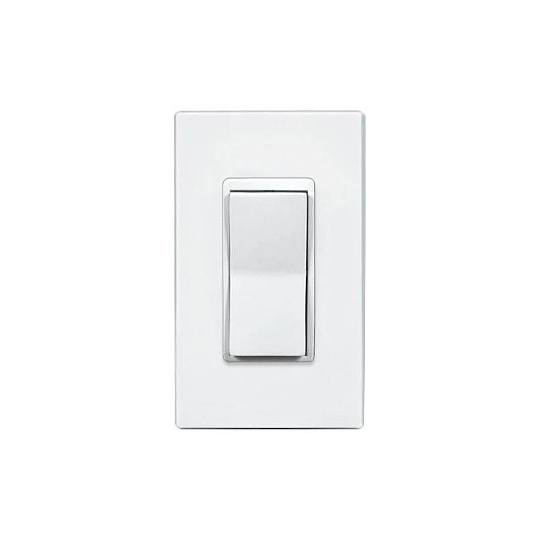 Lightolier Momentum White Non-Dimming On-Off Wall Switch