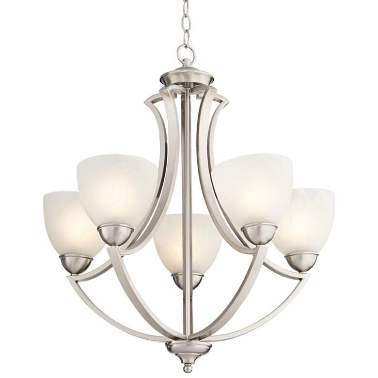 "Possini Euro Design Milbury Five Light 24"" Wide Chandelier"